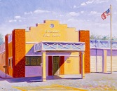 """Cordelia Fire House"", 2004, by Daphne Wynne Nixon"