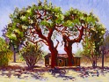 """Old House Behind Thompson's Corner Saloon"" 2004, by Daphne Wynne Nixon"