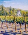 """Vineyard Tank House"" by Daphne Wynne Nixon"