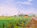 """View of Mount Diablo from Old Cordelia"" by Daphne Wynne Nixon, 2004"