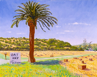 """Oat Hay for Sale in Old Cordelia"" by Daphne Wynne Nixon, 2005"