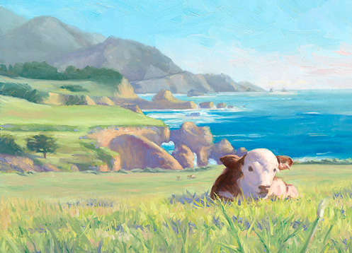 """Big Sur, Little Calf"""