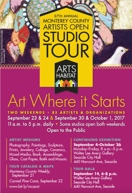 Monterey County Open Studio Tours 2017