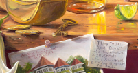 "Detail from ""Dora's Secret"""