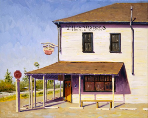 thompsons-corner-saloon-oil-painting