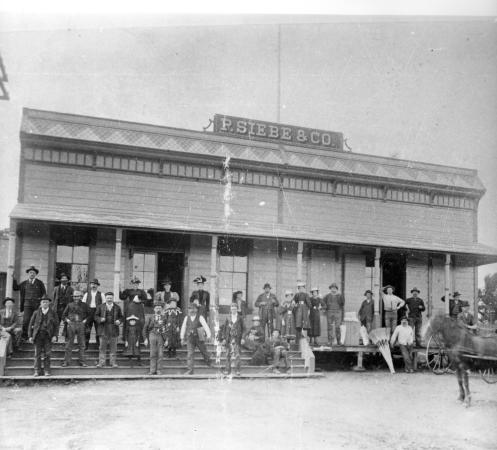 Siebe's General Store on Cordelia Road in Old Town Cordelia, built in 1874, stood in front of my house before it burned in 1939.